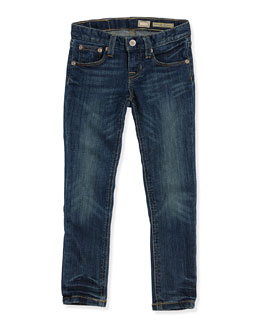 Ralph Lauren Childrenswear Girls' Bowery Skinny Denim Jeans