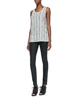 rag & bone/JEAN Cast Sleeveless Tank Top & The Legging Jeans