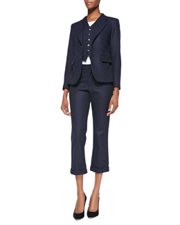 Charlotte Gainsbourg X Current/Elliott The Boy's Blazer, The Suit Vest & The Suit Trouser