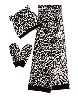 Milly Minis Cheetah-Print 3-Piece Knit Box Set