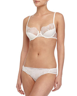Sophia Lace Demi Bra & Bikini Briefs