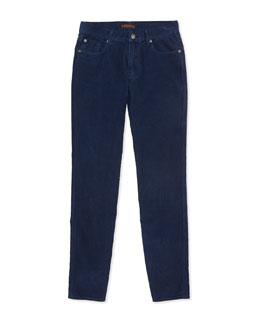 Standard Corduroy Jeans, Navy