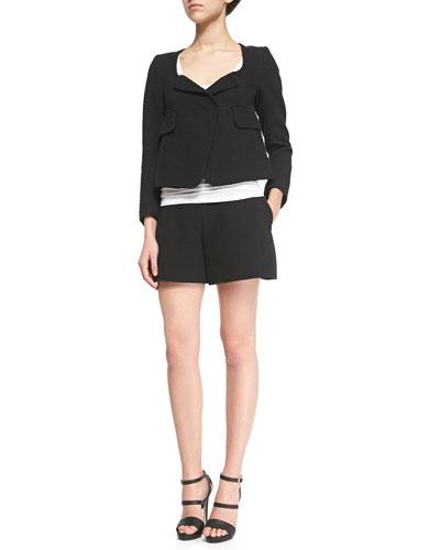 Fancy Tweed Empire Jacket & Shorts
