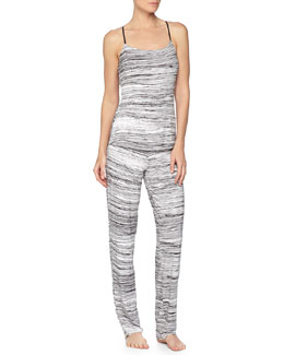 Ambracia Racerback Camisole & Straight-Leg Pants