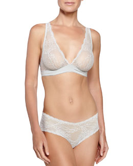 Trenta Basic Soft Bra & Low-Rise Lace Hotpants