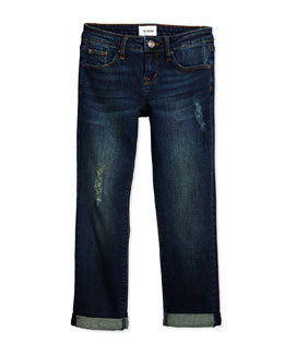Boyfriend Distressed Jeans, Orion