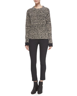 Rue Knit Pullover Sweater & Simone Stretch Ankle Pants