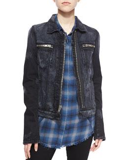 Phoenix Denim Jacket & Joplin Flannel Shirt