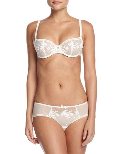 Intuition Underwire Demi Bra & Hipster Briefs