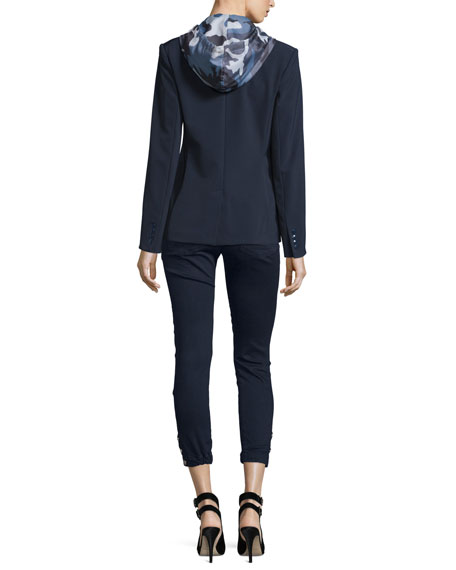 Hooded Zip-Front Dickey