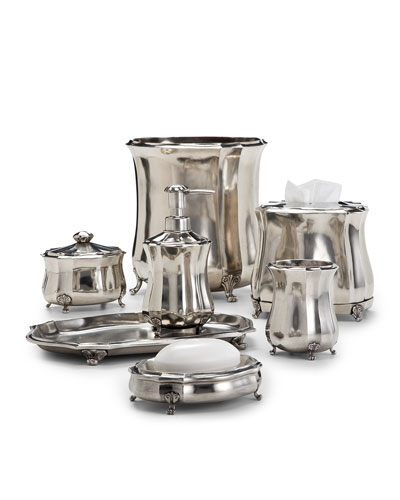 Sofia Pewter Vanity Accessories