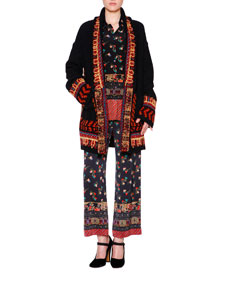 Etro Cardigan, Blouse & Pants