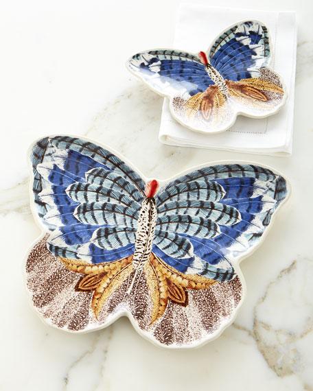 Forest Walk Butterfly Plate