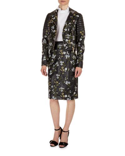 Jacket, Blouse & Skirt