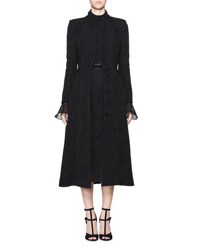 Coat, Dress & Belt