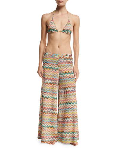 Coverup Pants & Bikini