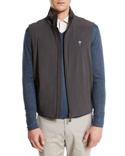 Vest, Sweater, and Polo