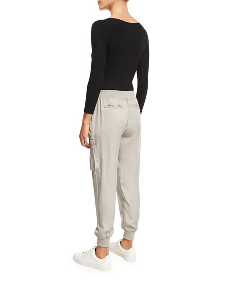 Straight-Leg Track Pants