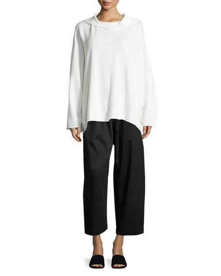 Long-Sleeve Round-Neck T-Shirt