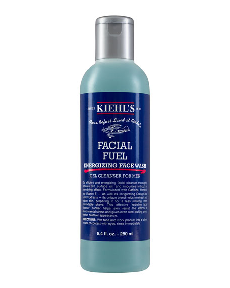 Facial Fuel Energizing Face Wash Gel Cleanser For Men, 8.4 fl. oz.