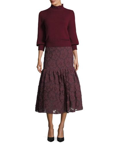 Lace Midi Mermaid Skirt and Matching Items