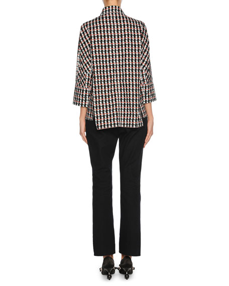 3/4-Sleeve Pajama Top
