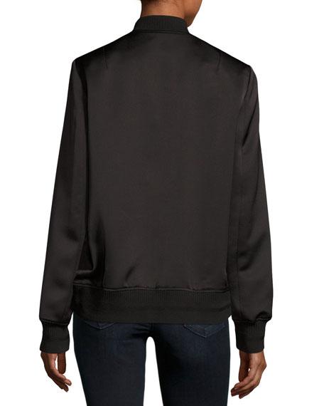 Veste Teddy Bomber Jacket, Black