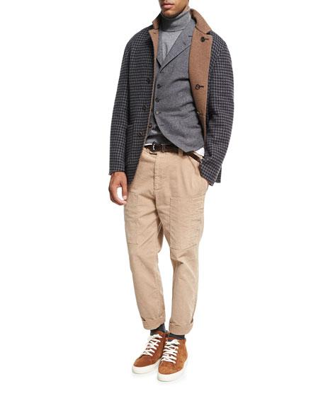 Reversible Cashmere Overcoat