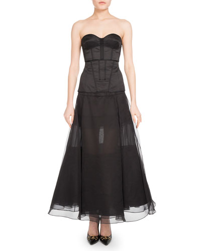 Long Organza Skirt and Matching Items
