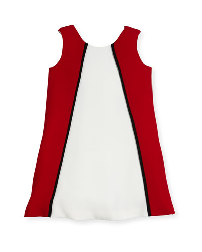 Colorblock A-Line Dress, Size 2-6 and Matching Items