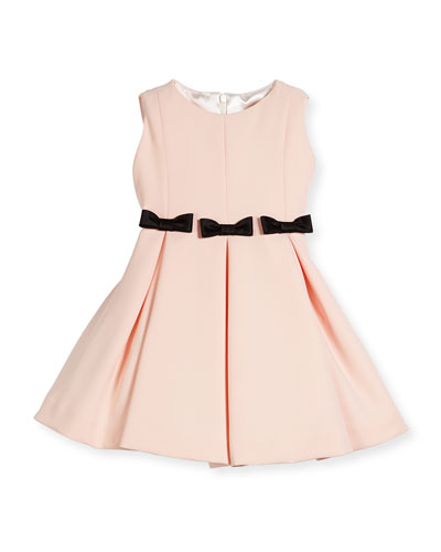 Fit-and-Flare Dress w/ Bows, Size 2-6 and Matching Items