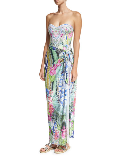 Camilla Sarong Swim Coverup and Matching Items
