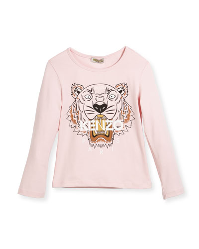 Long-Sleeve Tiger T-Shirt, Size 14-16 and Matching Items