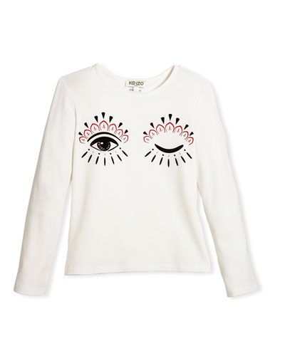 Long-Sleeve Eye Tee, Size 4-6 and Matching Items