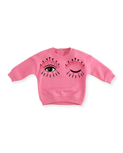 Eyes Graphic Sweatshirt, Size 2-3 and Matching Items