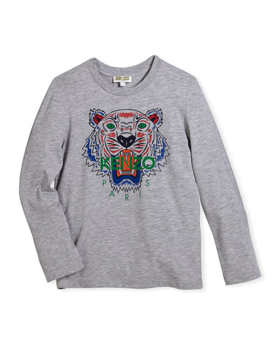 Long-Sleeve Logo Tiger Tee, Size 12-18 Months and Matching Items