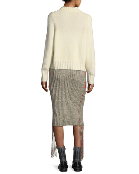 Fenix Ribbed Cashmere Sweater