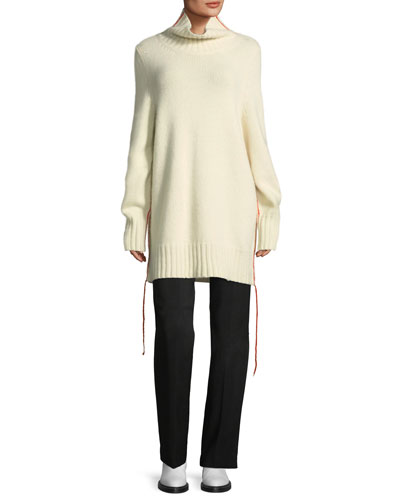 Donia Long Cashmere Turtleneck Sweater and Matching Items