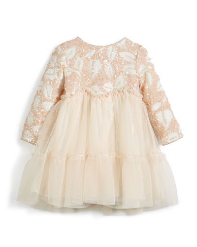 Sequin and Tulle Dress, Size 2-3 and Matching Items