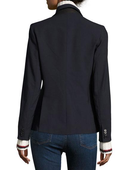 Classic Crepe Jacket