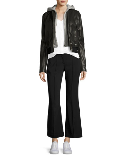 Felix Mid-Rise Seamed Flared Pants and Matching Items