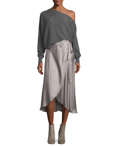 Dahoma Silk Wrap Skirt and Matching Items