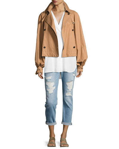 Eleta Double-Breasted Trench Jacket and Matching Items