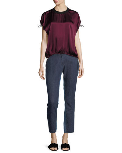 Ray High-Rise Skinny-Leg Denim Pants and Matching Items