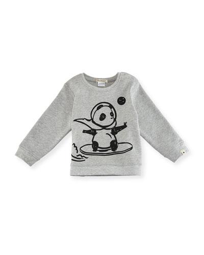 Space Panda Sweatshirt, Size 12-18 Months  and Matching Items