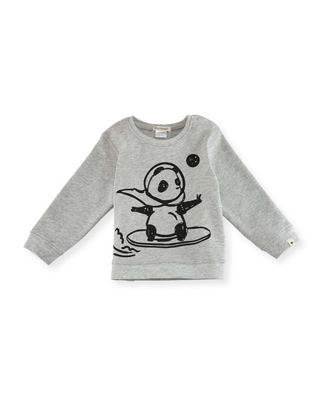 Space Panda Sweatshirt, Size 12-18 Months