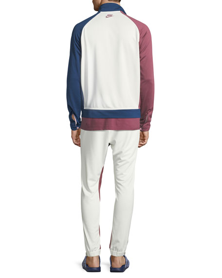 Colorblock Terry Track Pants