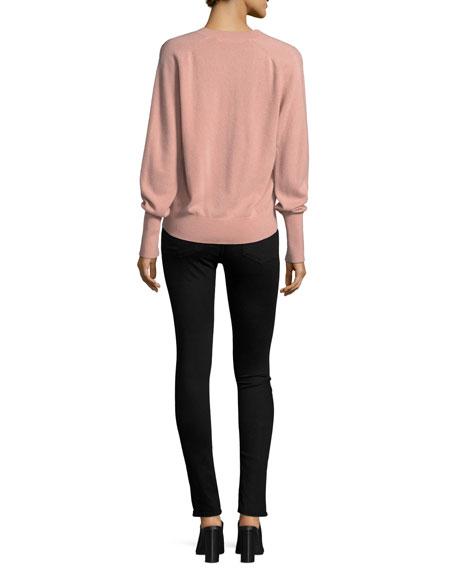Deacon V-Neck Cashmere Pullover Sweater
