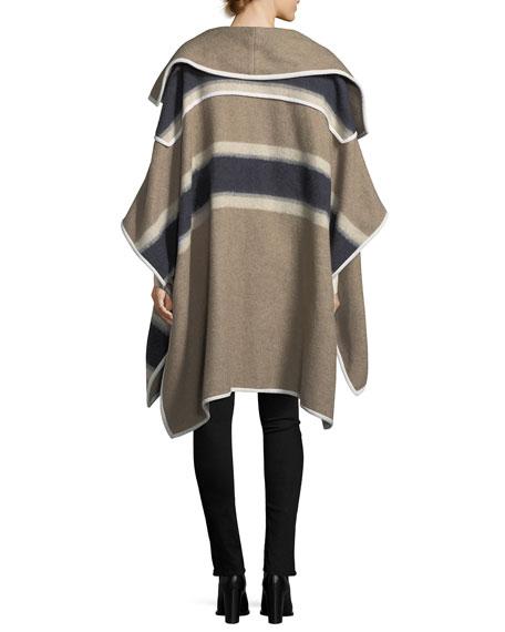 Willa Grommet-Trim Long-Sleeve Blouse