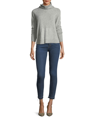 Oliver Funnel-Neck Pullover Cashmere Sweater and Matching Items